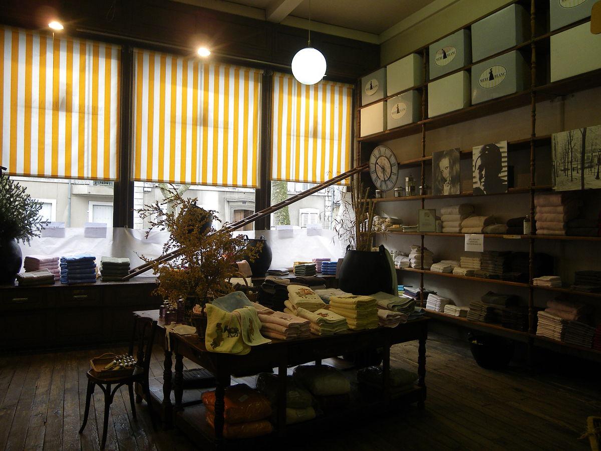 Mère Blanc, spécialiste du linge de maison, ouvre sa boutique en ligne et vous livre à domicile !